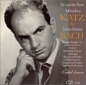 Legendary Pianist Mindru Katz Plays Bach
