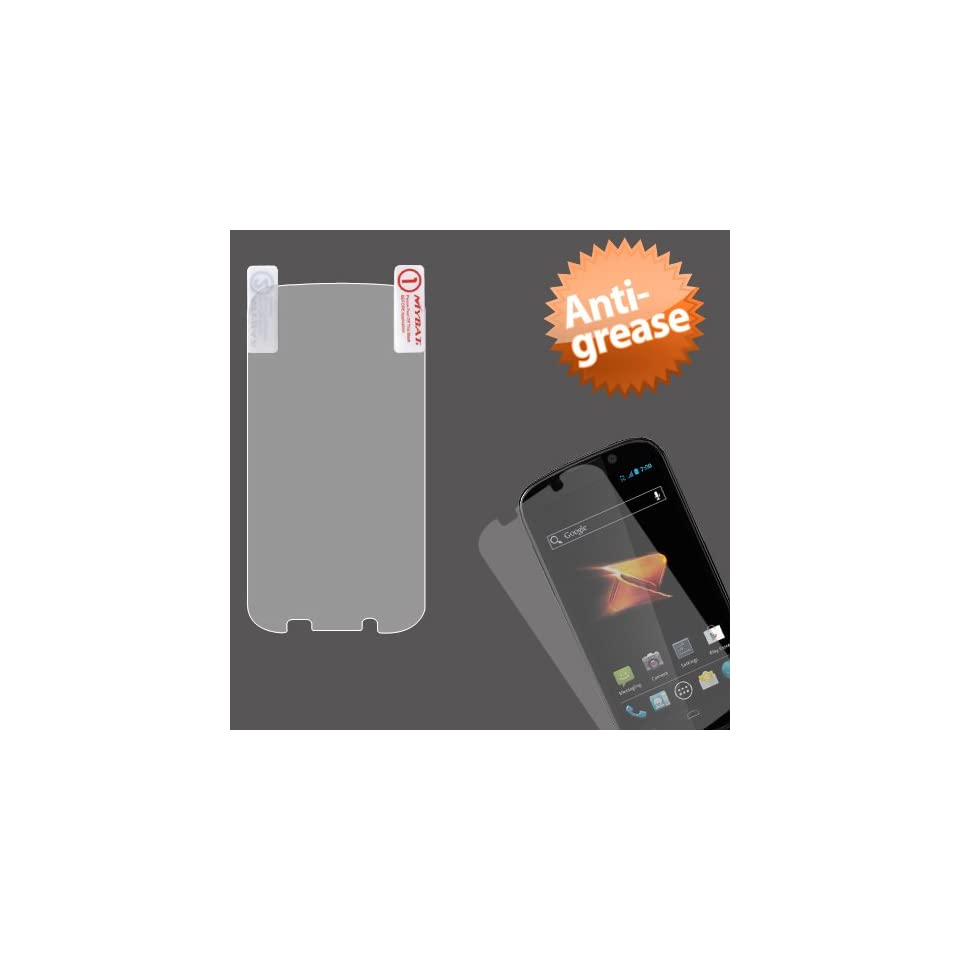 MYBAT ZTEN861LCDSCPR21 Anti Glare, Anti Scratch, Anti Fingerprint Screen Protector for the ZTE Warp Sequent N861   Retail Packaging   Single Pack Matte