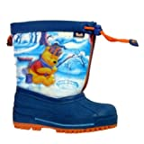 Disney Toddler Boys Blue Winnie The Pooh Snow Boots