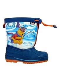 Disney Toddler Boys Blue Winnie The Pooh Snow Boots