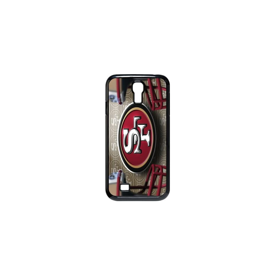 WY Supplier Fitted Case Cover for SamSung Galaxy S4 I9500 NFL San Francisco 49ers Team logo back Cover WY Supplier 148185 Cell Phones & Accessories