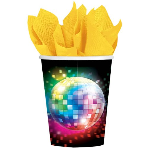 Disco Fever 9oz Cups 8ct