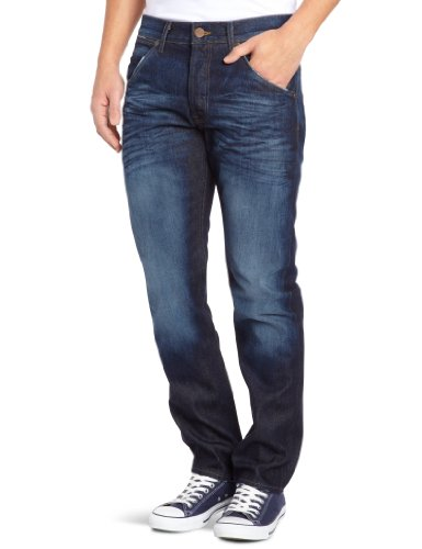 Wrangler Ben Azure Too Tapered Men's Jeans Blue W33 INxL32 IN
