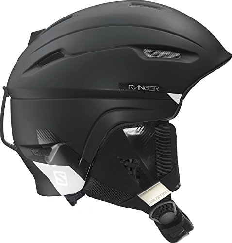 Salomon L37771800_Black Mat_53-56 - Casco da sci, S, colore: Nero - Black Mat