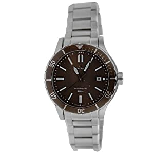 Maurice Lacroix Men's MI6028-SS072730 Miros Brown Dial Stainless Steel Watch