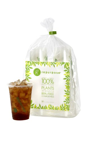 Repurpose® Compostables Cold Cups 16 Oz. 50 Count