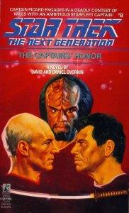 The Captain's Honor (Star Trek The Next Generation, No 8), DAVID DVORKIN, DANIEL DVORKIN