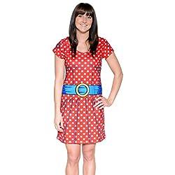 Ladies Cartoon Dress Costume T-Shirt