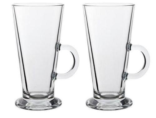 Stylehome Lot de 2verres à thé café ou latté compatible avec Tassimo et Dolce Gusto Taille L