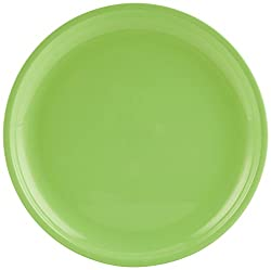 Signoraware Round Full Plate Set, Set of 6, Parrot Green