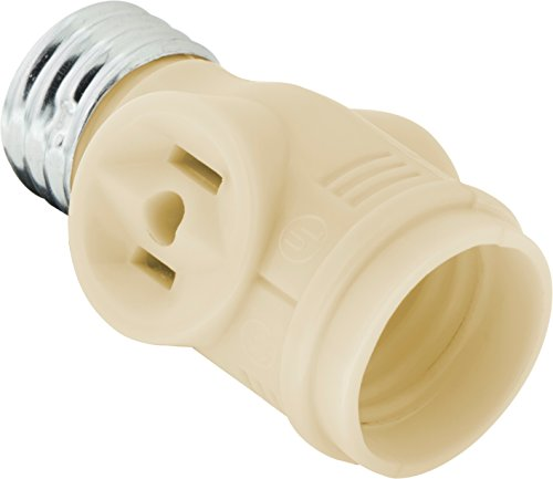 GE 54178 Socket Adapter Adds 2 Outlets to a Bulb Socket (Outlet Light Bulb Adapter compare prices)