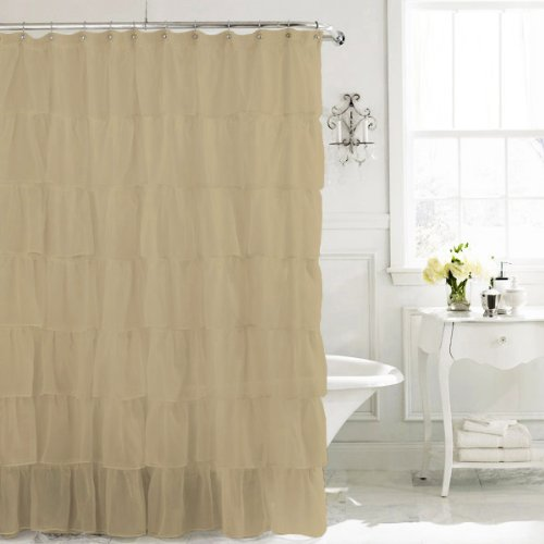 Shower Curtains With Ruffles for 2014