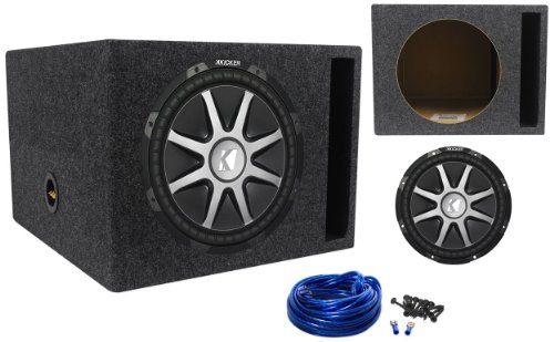 Package: Kicker 10cvr12-4 2010 Comp Vr Series 12