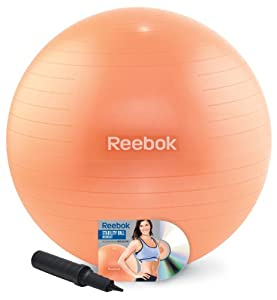 Reebok 65cm Stability Ball Kit with DVD