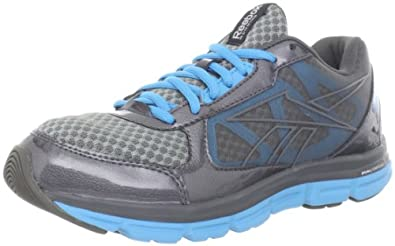 Reebok Women's Reebok Dual Turbo Shoe,Grey/ Grey/ Blue,5 M US