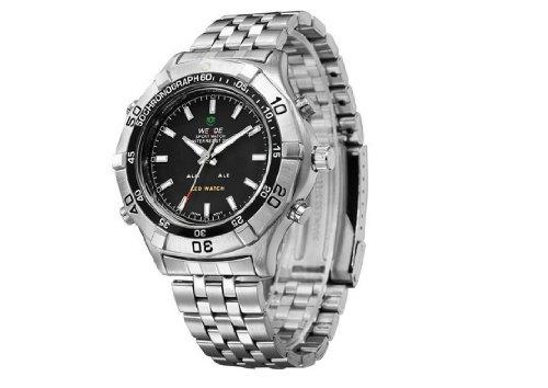 Men'S Waterproof Military Watch Cool Mens Watches Black