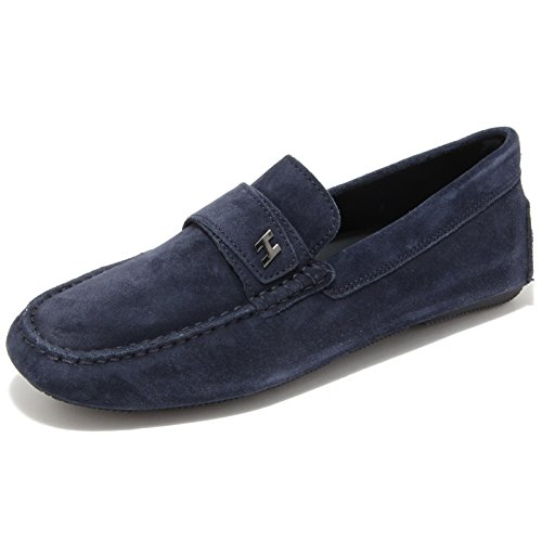 0695L mocassini uomo blu HOGAN wrap 185 scarpe loafers shoes men [5]