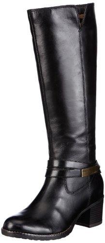 Tamaris Womens TAMARIS Boots Black Schwarz (BLACK 001) Size: 6 (39 EU)