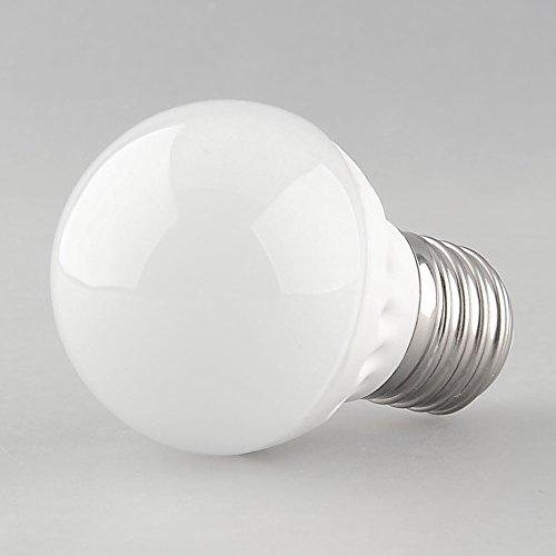 {Factory Direct Sale} (Pack Of 10) E27 Socket 5W 20 Led 2835 Smd Globe Light Bulb Lamp Spotlight Warm White Home House Office Store Exhibition Shop Ac 110V-220V