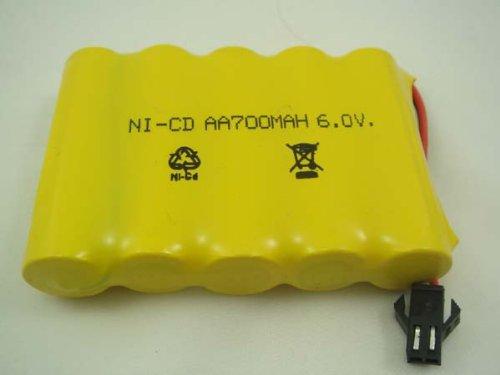 Akku-6V-700-mAh-Modellbau-70x50x15mm-Neu-607001
