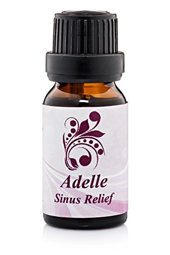 Sinus Relief Essential Oil - Therapeutic Pure Organic FDA Certified - 60 Day Guarantee - .5oz
