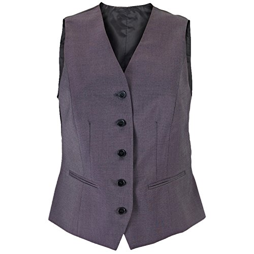 Alexandra - Icona - Gilet da Donna (42 IT) (Carbone)
