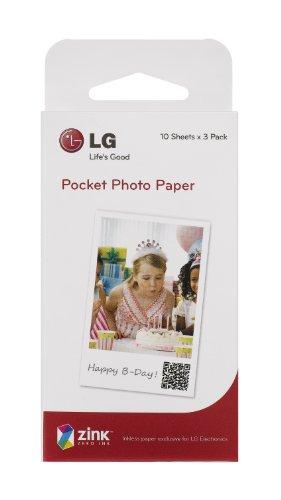 LG Electronics Japan ポータブルモバイルプリンター「Pocket Photo」専用 Zink用紙 PS2203