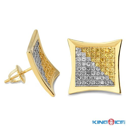 King Ice Kite Flying Blondie Earrings