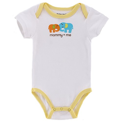 Solid Color Baby Onesies front-1038938