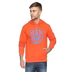 Proline Men's Cotton Knitwear (8907007338971_PC11059C_OR_M_Orange)