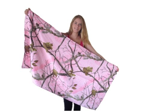 Best Review Of Realtree Pink Camo Beach Towel