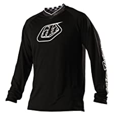 Troy Lee Designs Midnight Downhill Jersey black (Size: M)