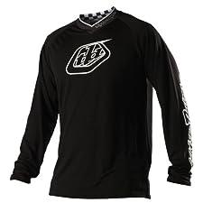 Troy Lee Designs Midnight Downhill Jersey black (Size: L)
