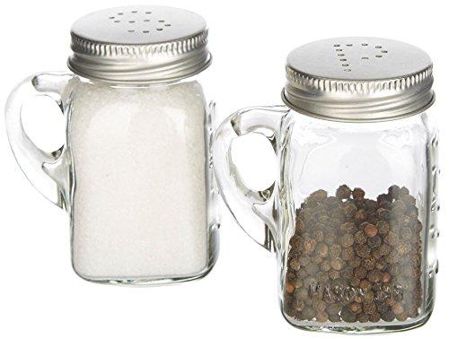 Olde Thompson 3771-G Mason Jar Salt & Pepper Shaker Set (Jar Salt compare prices)