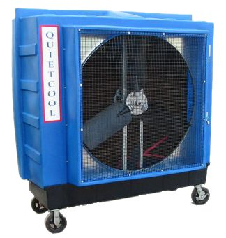 Quietaire QC48B2 48 Inch Belt Drive Portable Evaporative Cooler With Air Filter