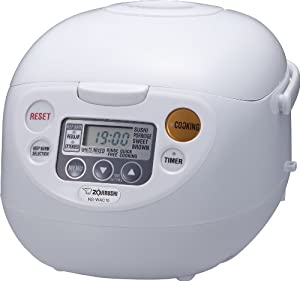 Zojirushi NS-WAC10-WD 5.5-Cup (Uncooked) Micom Rice Cooker and Warmer by Zojirushi