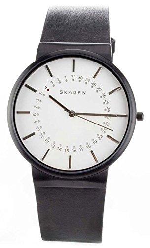 Skagen Denmark Montres Homme - Bracelet en cuir & résine SKW6217