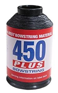 Bcy Inc 450+Bowstring Material Black by BCY
