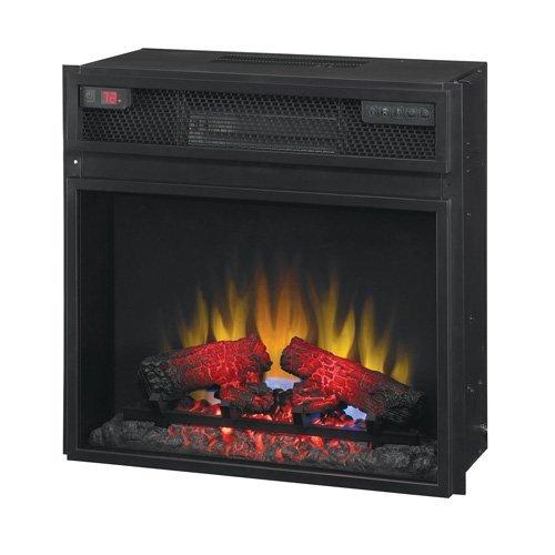 "23"" Infrared Quartz Heater Insert With Remote"