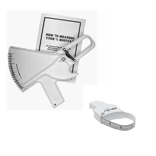 Cheap Slim Guide Skinfold Caliper in white With MT05 MyoTape Body Tape Measure (SLIMKIT-WHITE)