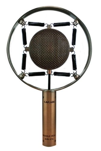 Cascade Microphones Knuckle Head Short Ribbon Microphone, Antique Copper, With Lundahl Ll2912 Transformer