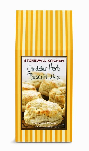 Stonewall Kitchen Cheddar Herb Biscuit Mix, 12-Ounce Boxes (Pack of 3)
