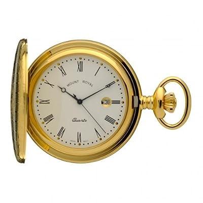 Mount Royal Pocket Watch B4 Gold Plated Full Hunter
