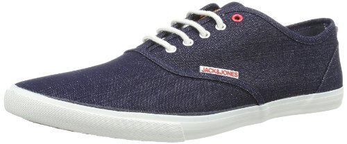Jack and Jones Mens JJ Spider Low-Top 12065507 Dress Blue/Denim 7 UK, 41 EU