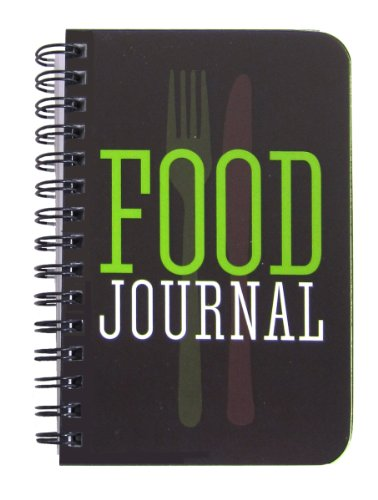 BookFactory® Food Journal / Food Diary / Diet Journal Notebook, 120 pages - 3 1/2