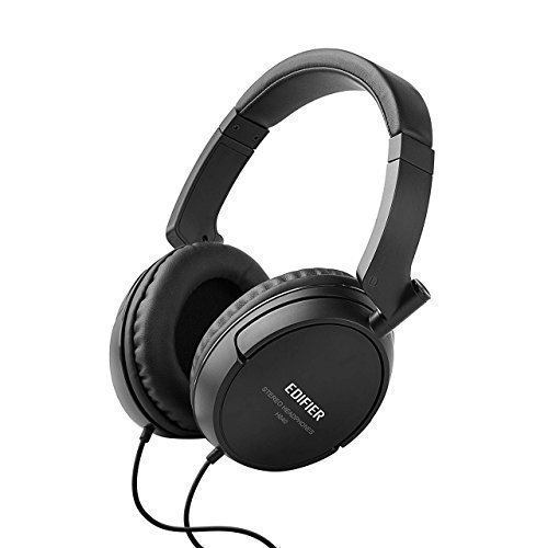 Edifier-H840-Hi-Fi-Over-Ear-Noise-Isolating-Audiophile-Closed-Monitor-Music-Listening-Stereo-Headphones