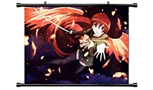 "Shakugan No Shana Anime Fabric Wall Scroll Poster (32"" X 21"") Inches"