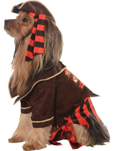 Halloween Costumes Item - Cat & Dog Costume Pirate Boy Large