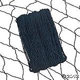 3 pcs - Black Cotton Fish Netting Nets