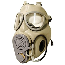 Military Surplus Czech M10M Gas Mask by Military+Surplus